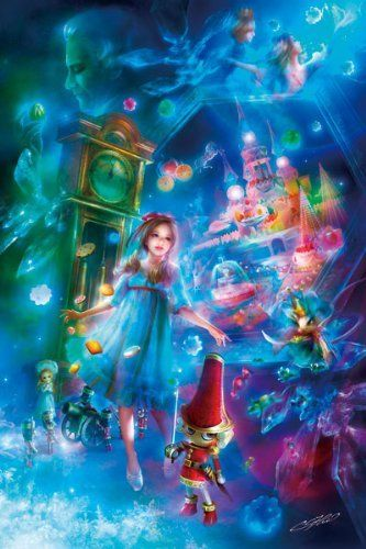 APPLEOne Jigsaw Puzzle 300-289 Fantasy Art The Nutcracker (300 Pieces)