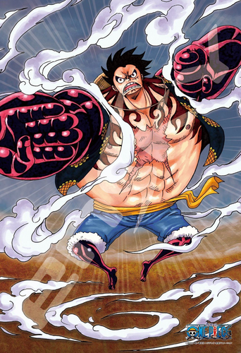 Ensky Jigsaw Puzzle 300-1142 One Piece gear 4 bouncy man !!! (300 Pieces)