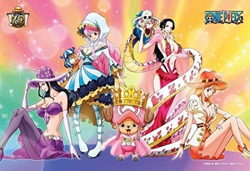Ensky Jigsaw Puzzle 300-937 One Piece Chopper & Heroines (300 Pieces)