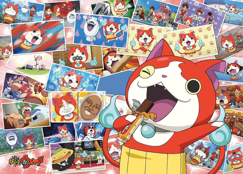 Ensky Jigsaw Puzzle 300-L386 Japanese Anime Yo-Kai Watch (300 L-Pieces)