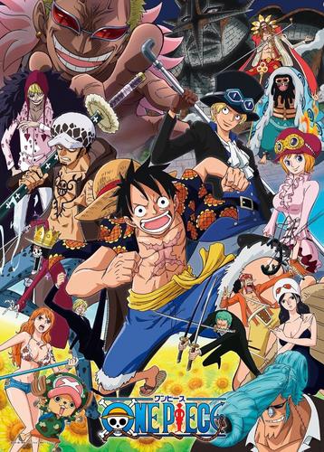 Ensky Jigsaw Puzzle 500-173 Japanese Anime One Piece (500 Pieces)