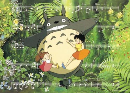 Ensky Jigsaw Puzzle 500-214 My Neighbor Totoro Studio Ghibli (500 Pieces)