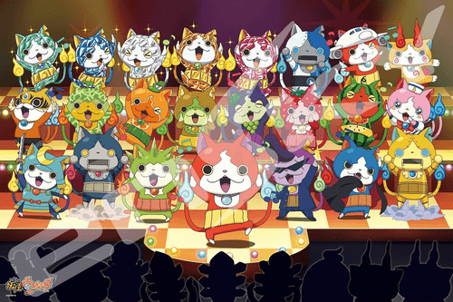 Ensky Jigsaw Puzzle 500-L169 Japanese Anime Yo-Kai Watch (500 L-Pieces)