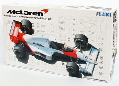 Fujimi GP16 090573 F1 McLaren Honda MP4/5 Monaco GP 1/20 Scale Kit 090573