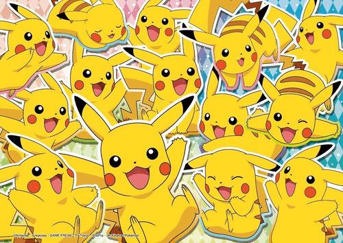 Beverly Jigsaw Puzzle 100-006 Pokemon XY&Z Glitter Many Pikachu (100 L-Pieces)