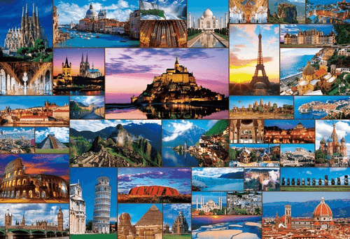 Beverly Jigsaw Puzzle 31-464 World Heritage Collection (1000 Pieces)