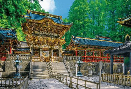 Beverly Jigsaw Puzzle 51-183 Japanese Scenery Nikko Toshogu Yomeimon 1000 Pieces