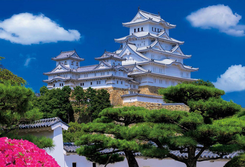 Beverly Jigsaw Puzzle 51-195 Japanese Scenery Himeji Castle (1000 Pieces)