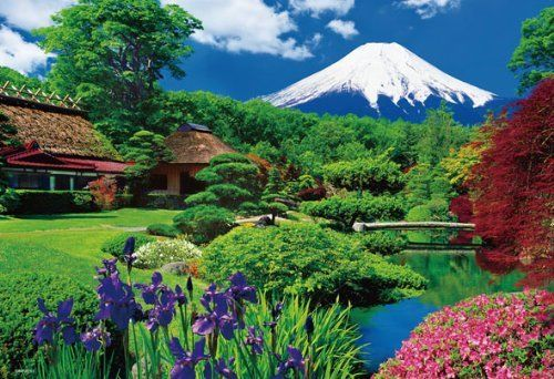 Beverly Jigsaw Puzzle 73-196 Japanese Scenery Mt. Fuji (300 Pieces)