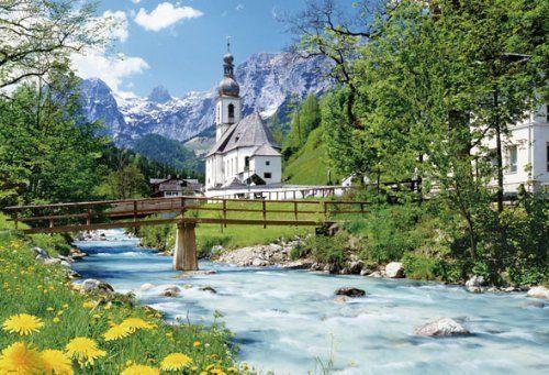 Beverly Jigsaw Puzzle M71-832 Pfarrkirche St. Sebastian Ramsau (1000 S-Pieces)
