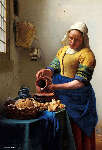 Beverly Jigsaw Puzzle M81-848 Johannes Vermeer The Milkmaid (1000 S-Pieces)