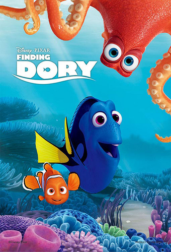 Yanoman Jigsaw Puzzle 99-406 Finding Dory and Nemo and (99 Small Pieces)