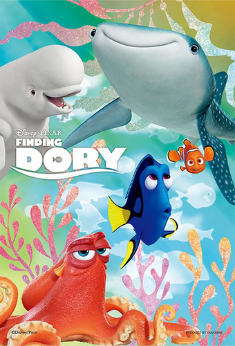 Yanoman Jigsaw Puzzle 99-408 Finding Dory The Adventures of Dory (99 Small Pcs)