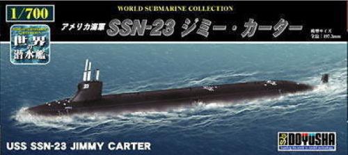 Doyusha 301043 USS SSN-23 Jimmy Carter Submarine 1/700 Scale Kit