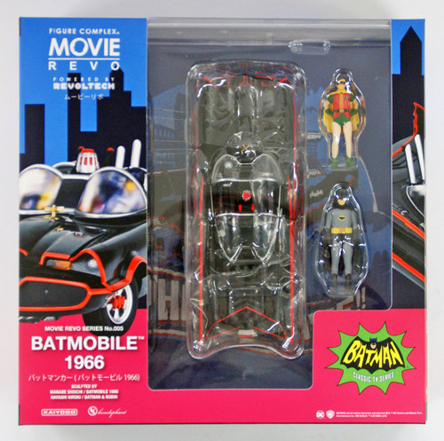 Kaiyodo Movie Revo (Revoltech) Series No.005 Batmobile 1966 Figure