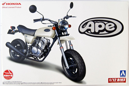 Aoshima 51702 Bike 21 Honda Ape 50 1/12 scale kit 4905083051702
