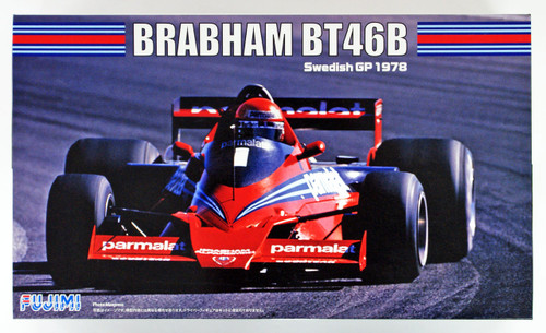 Fujimi GP12 Brabham BT46B Swedish GP 1/20 scale kit