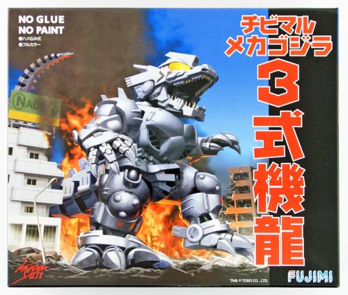 Fujimi 170381 Chibi-maru Godzilla Mechagodzilla non-Scale Kit