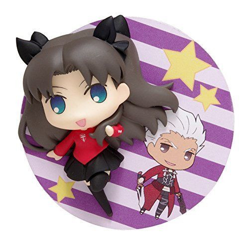 Wave DF005 Fate/Stay Night Unlimited Blade Works Archer Tohsaka Rin 2.5D Badge