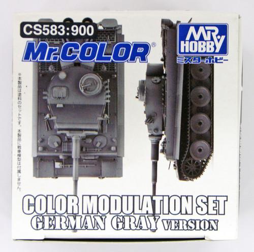 GSI Creos Mr.Hobby CS583 Mr. Color Modulation Set German Gray Version