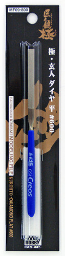 GSI Creos Mr.Hobby MF09 Kiwami Series Mr. Modeling File Diamond Flat Type No.600