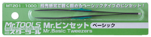 GSI Creos Mr.Hobby MT201 Mr. Basic Tweezers