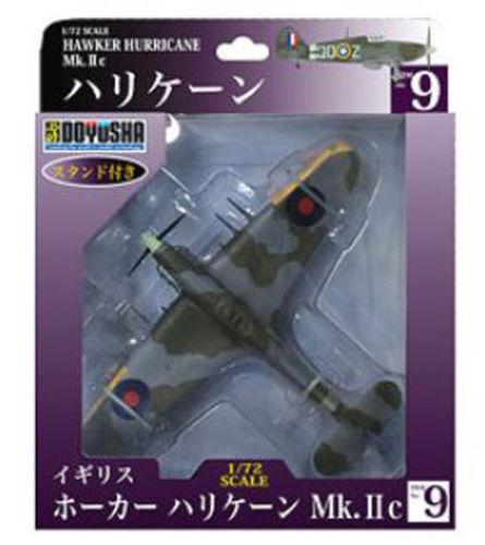 Doyusha 500965 Zero Fighter Type 52 No.9 Hawker Hurricane 1/72 Scale Finished Model