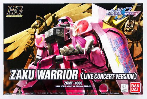 Bandai 340948 HG Gundam Seed Destiny Zaku Warrior (Live Concert) 1/144 Scale Kit