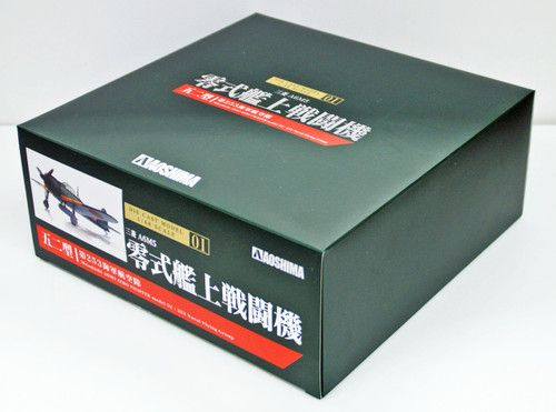 Aoshima 83840 Diecast Model 01 A6M5 Type Zero Model52 1/48 scale