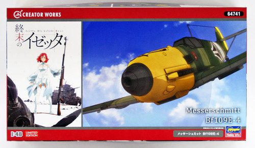 Hasegawa 64741 Shuumatsu no Izetta Messerschmitt Bf109E-4 1/48 scale kit