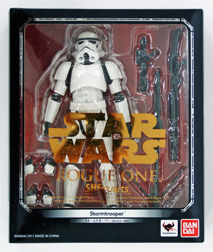 "Bandai 094609 S.H. Figuarts STAR WARS Series Rogue One ""Stormtrooper"" Figure"