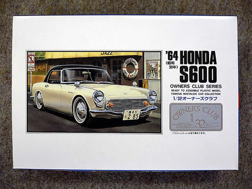 Arii Owners Club 1/32 03 1964 Honda S600 1/32 Scale Kit (Microace)