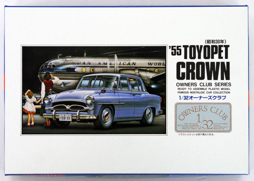 Arii Owners Club 1/32 06 1955 Toyopet Crown 1/32 Scale Kit (Microace)