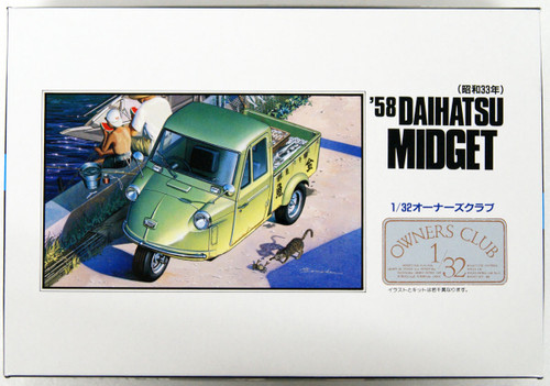 Arii Owners Club 1/32 11 1958 Daihatsu Midget 1/32 scale kit (Microace)