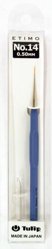 Tulip T13-14 ETIMO Cushion Grip Lace Crochet Hook Needle No.14 (0.50mm)