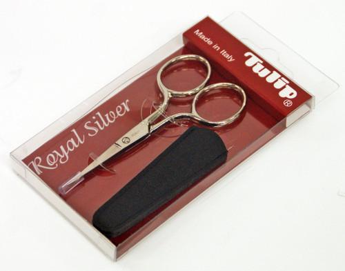 Tulip TIS-001 Italian High Quality Scissors Royal Silver