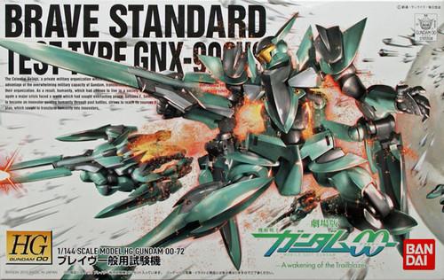 Bandai HG OO 72 Gundam BRAVE STANDARD TEST TYPE GNX-903VS 1/144 Scale Kit