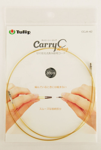 Tulip CCJA-42 Knitting Needle Code For Carry C Long (80cm)