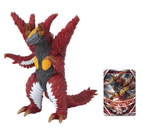 Bandai Ultraman Ultra Monster DX Zeppandon Figure (4549660087038)