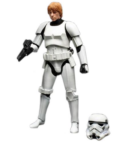 """Takara Tomy Disney Star Wars Series Luke Skywalker Stormtrooper 6"""" Figure 834526"""