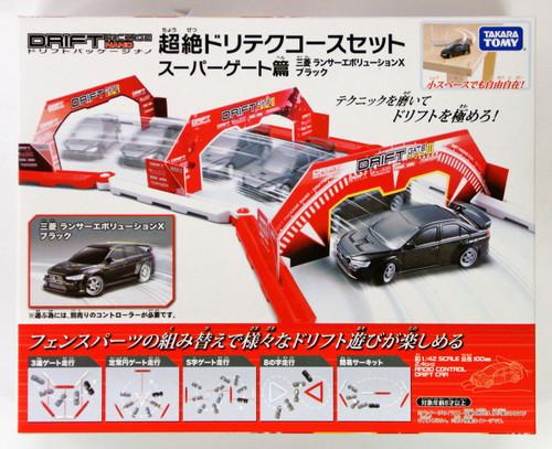 Takara Tomy Drift RC Series Drift Package Nano Mitsubishi Lancer Super Gate