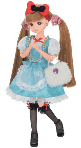 Takara Tomy Licca Doll Tea Party Dress Set  doll not included  (831211)