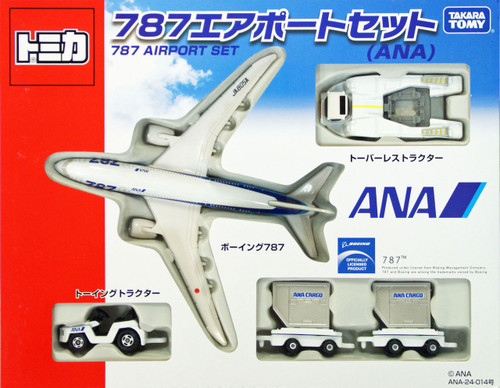 Takara Tomy 395690 Tomica All Nippon Airways Boeing 787 Airport Set (ANA)