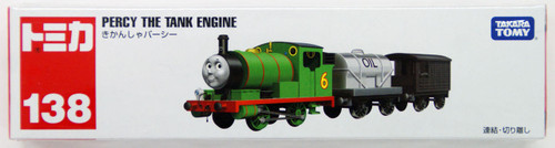 Tomy Tomica Long 138 Thomas The Tank Engine Percy 4904810486220