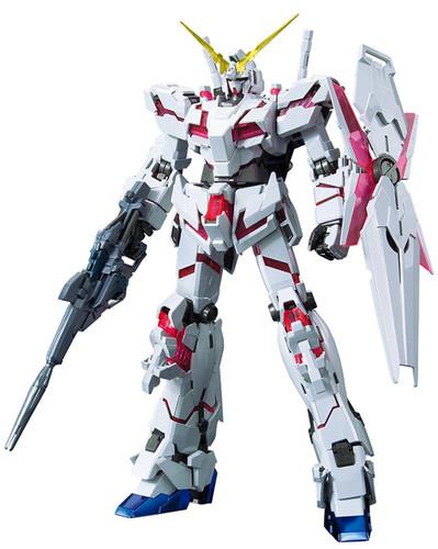 Bandai MG 150893 Gundam Unicorn Gundam Red/Green Frame Twin Frame Ed. Titanium Finish 1/100 Scale Kit
