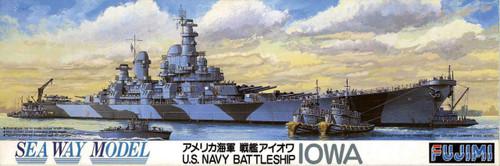Fujimi SWM23 US Navy BattleShip Iowa 1/700 Scale Kit