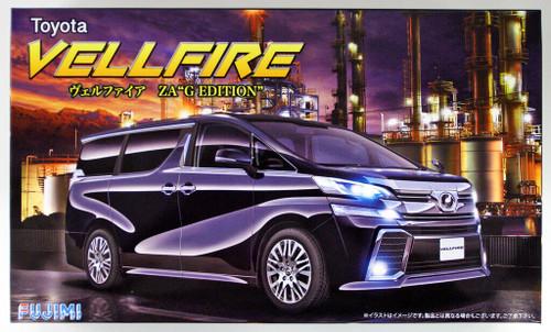 """Fujimi 066004 Vellfire ZA """"G Edition"""" 1/24 scale kit"""