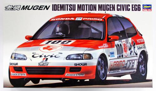 Hasegawa 20286 Idemitsu Motion Mugen Civic EG6 1/24 scale kit