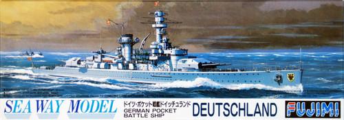 Fujimi SWM29 German BattleShip Deutschland 1/700 Scale Kit