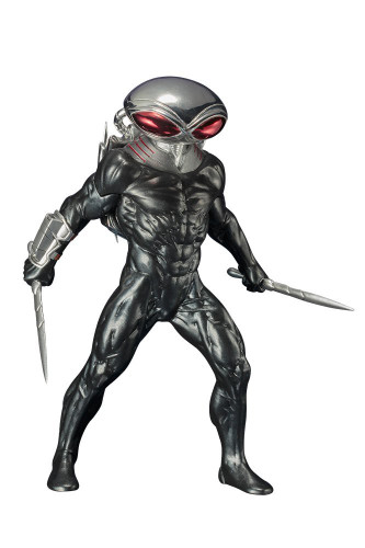 Kotobukiya SV195 ARTFX + DC Universe Black Manta 1/10 scale Figure